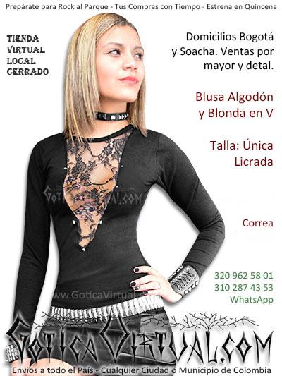 7034fea5f blusa algodon blonda economica bonita boutique envios bogota armenia tunja  sincelejo pereira tolima valle quindio tunja