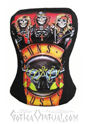 corset bandas bogota blusas dama rock metal tienda online envios medellin cali manizales barranquilla bucaramanga