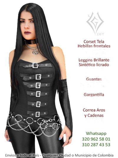 5c4dda4a0573 Corsets baratos Bogota goticos ropa metalera rockera sex shop ...